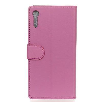 Plånboksfodral till Sony Xperia XZ - Rosa