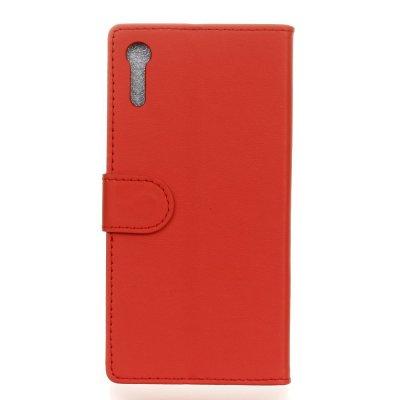 Plånboksfodral till Sony Xperia XZ - Röd