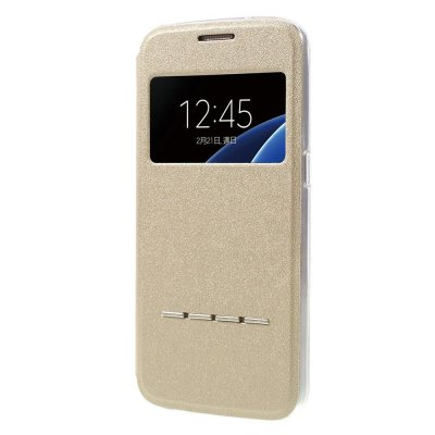 View fodral till Samsung Galaxy S7 - Guld