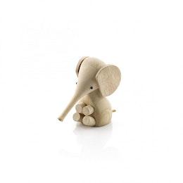 Elefantunge i gummiträ, Lucie Kaas