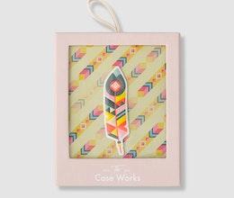 Feather Sticker, Printworks Market