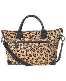 Mackay Bag, läderväska i leopardmönster, Unmade Copenhagen