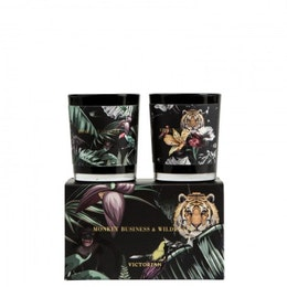 Wilderness/Monkey 2-pack doftljus, Victorian Candles