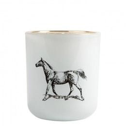 Pozzi Horse, Victorian Candle
