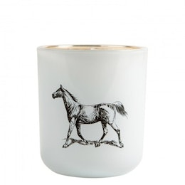 Pozzi Horse, Victorian Candle