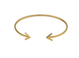 Strict Plain Bangle Arrow Gold, Armband Syster P