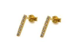 Strict Sparkling Earring Gold, Örhängen Syster P
