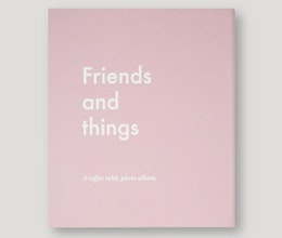 Friends and Things Coffee table photo album, Printworks Market