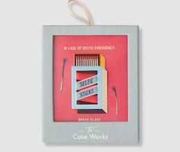 Selfie Sticks Sticker, PrintWorks Market