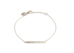 Strict Simple Line Bracelet Silver, Armband, Syster P