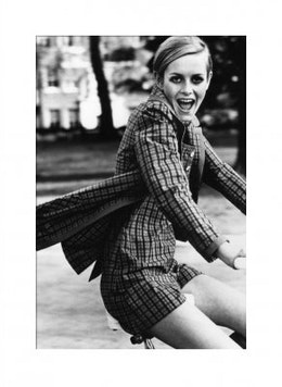 Vogue July 1967 Twiggy, Poster