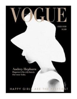 Audrey Vogue, Poster