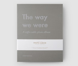 The Way We Were, Coffee table photo album