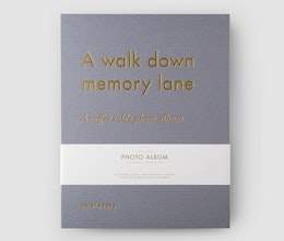 A Walk Down Memory Lane, Coffee table photo album