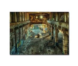 Graffitti ruin, Poster