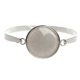 Lite Statement Grey, Stelt armband
