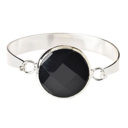 Lite Statement Black, Stelt armband
