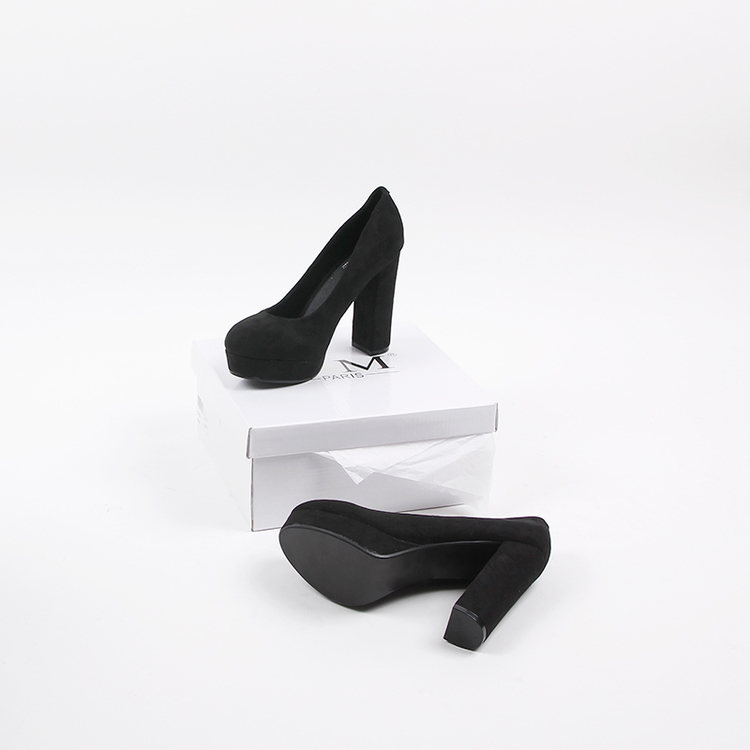 Footloop - black high heels cate milly