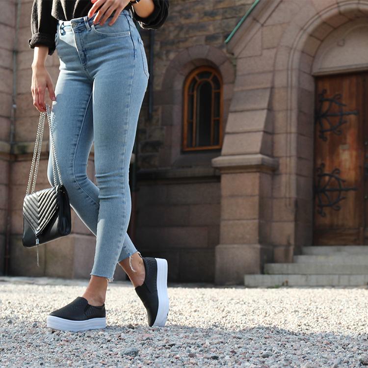 Footloop - Cate milly sneakers in black