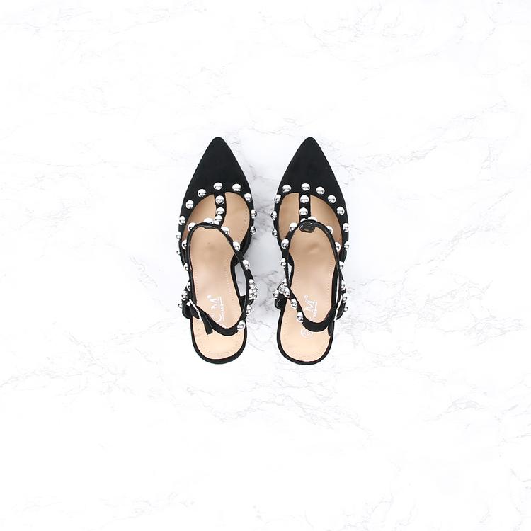 High heels danni in black