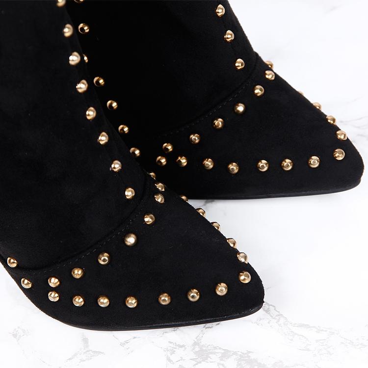 Footloop - women black boots donna