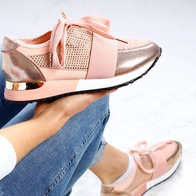 Footloop - women sneakers in pink