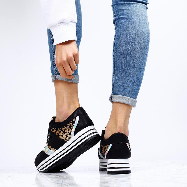 sneakers amy in gold stress