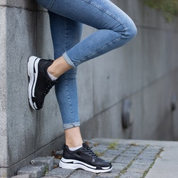 Footloop - women sneakers celine in black