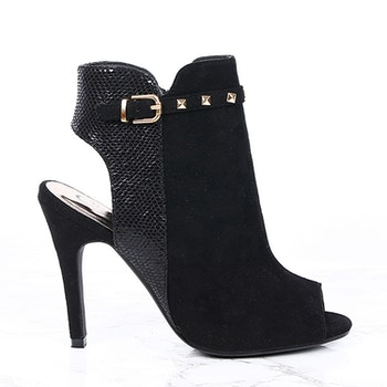 women sierra stiletto in black