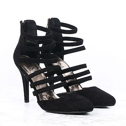 Footloop - cate milly stiletto heels in black