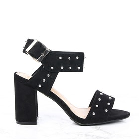 Footloop - women cate milly black heels