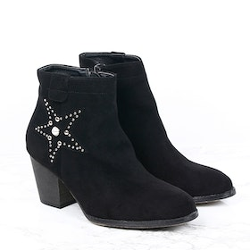 Footloop - women cate milly black boots