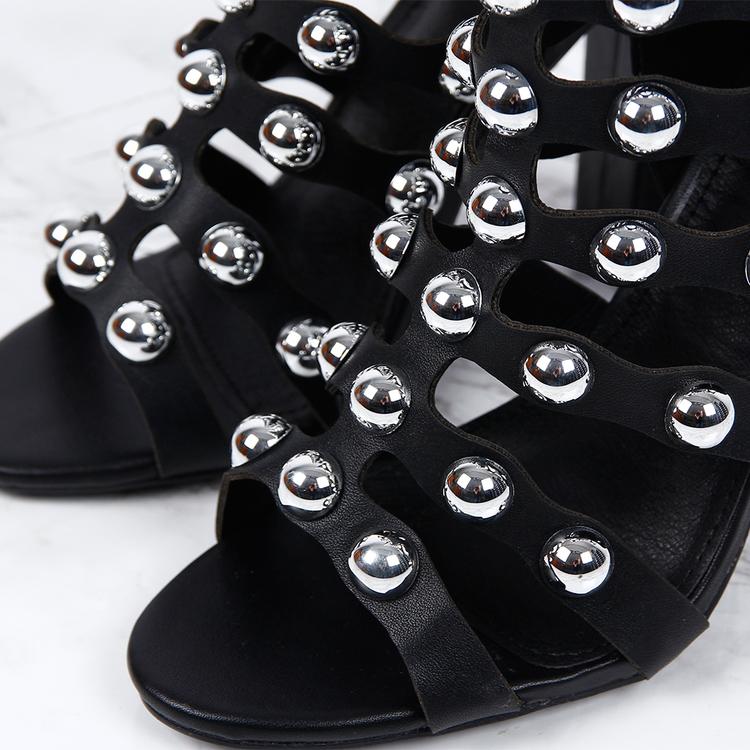 Footloop -  cate milly women black heels