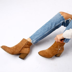Footloop - cate milly brown boots