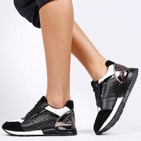 Footloop - women sneakers sara in black