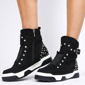 Footloop - sneakers women with zip