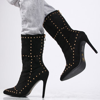 women boots donna in black