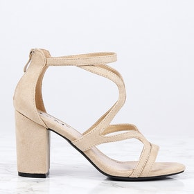 women kendall heels in beige