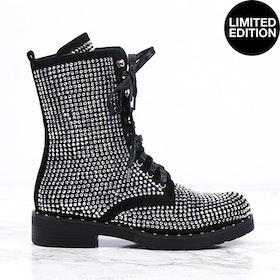women premium super bling boots