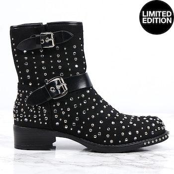 Footloop - Women premium boots in black