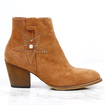 women cate milly brown boots