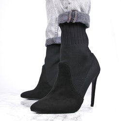 Stiletto heels evoin in black