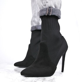 Stiletto heels evoin in black