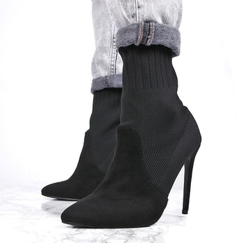 women heels evon in black