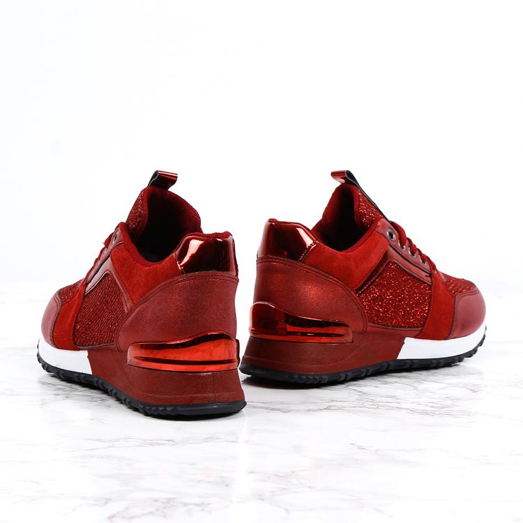 Sneakers sara in love red