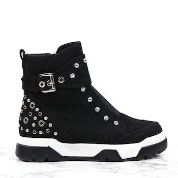 Footloop - Women high zip sneakers
