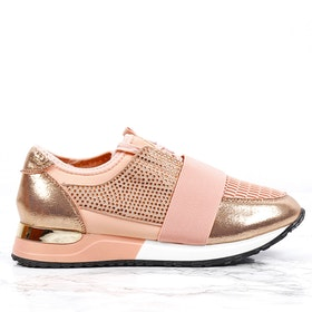 Sneakers sara in light pink