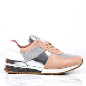 cate milly sneakers in pink