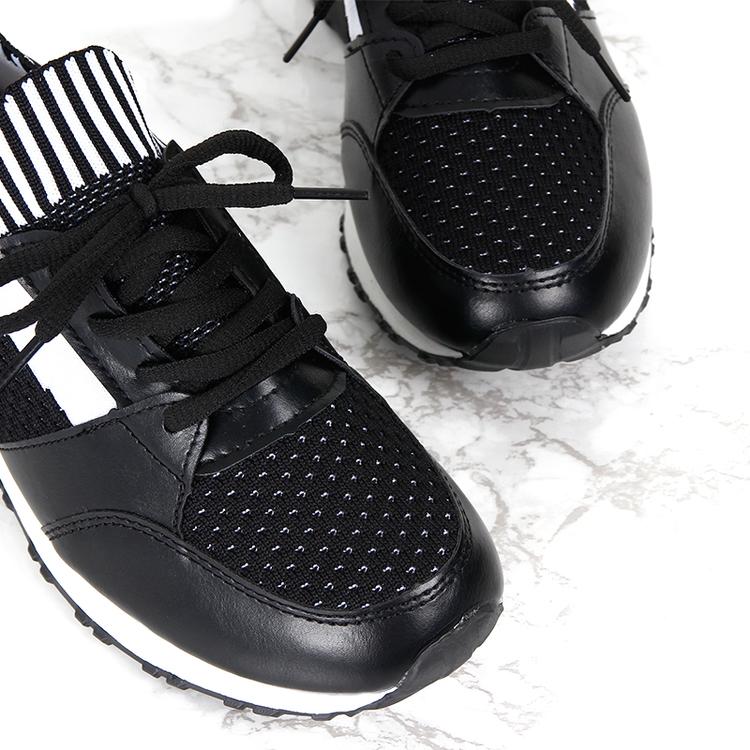 women sneakers kiki in black