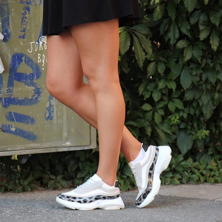 Sneakers Gabby in white